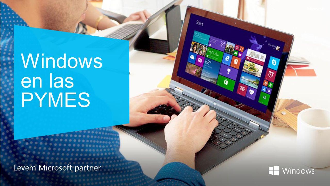 Windows en las PYMES Levem Microsoft partner
