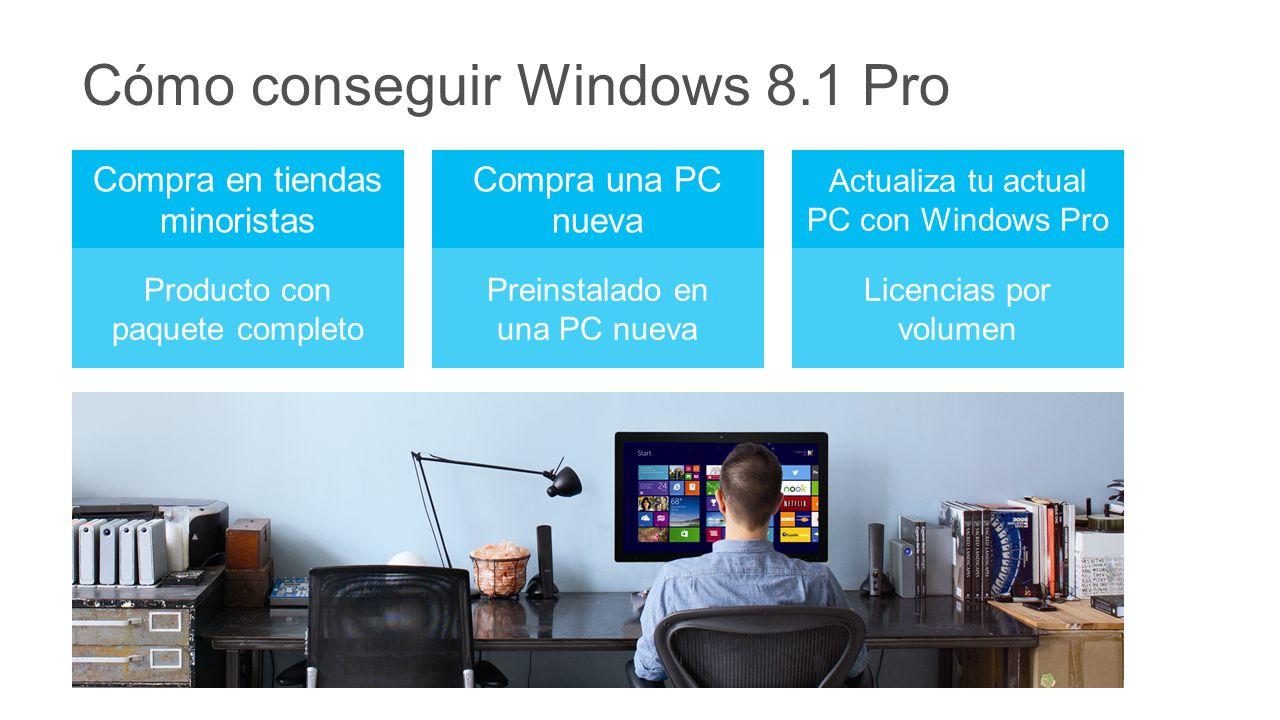 Cómo conseguir Windows 8.1 Pro