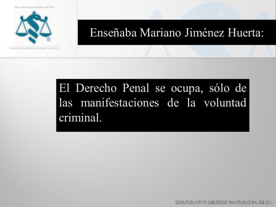 Enseñaba Mariano Jiménez Huerta: