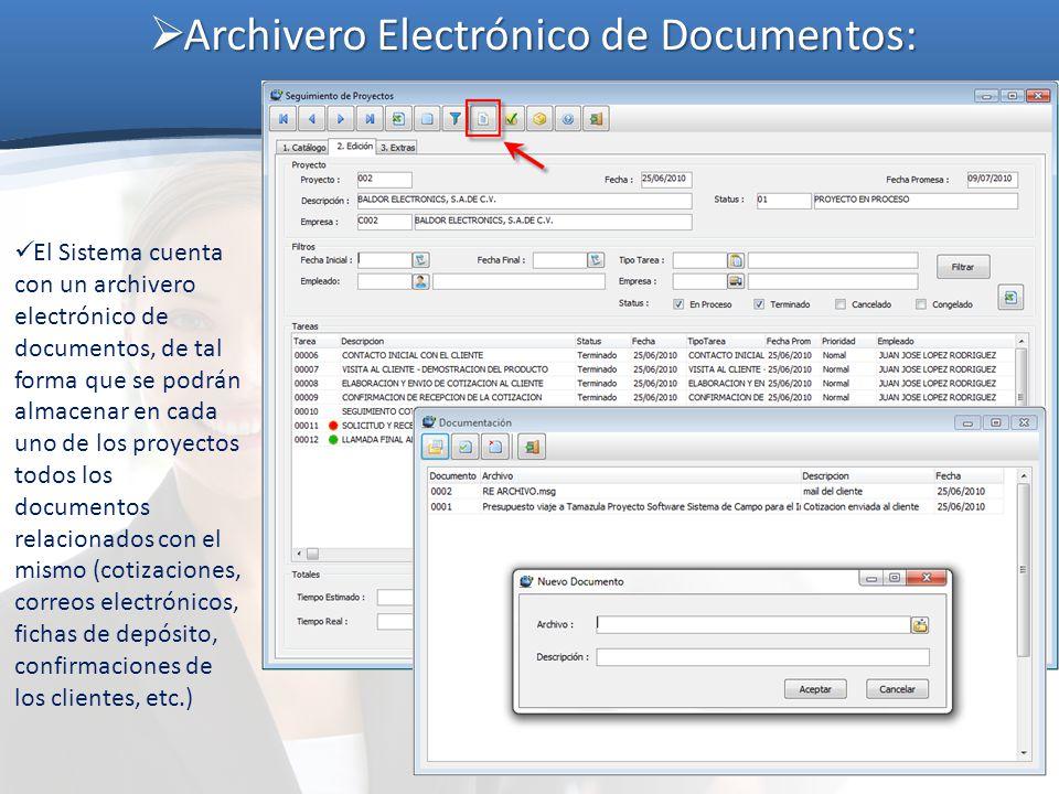 Archivero Electrónico de Documentos: