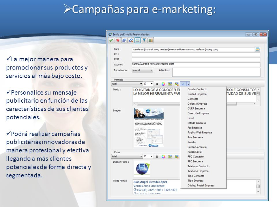 Campañas para e-marketing: