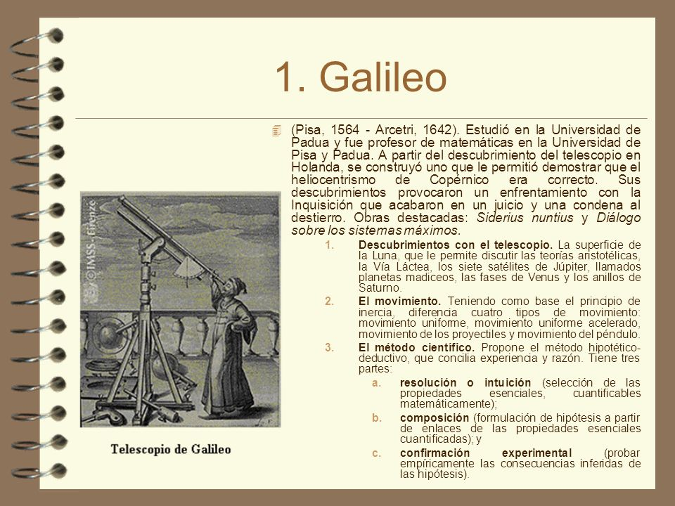 1. Galileo