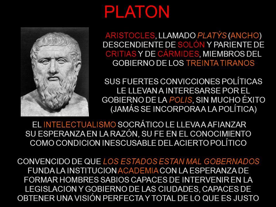 PLATON ARISTOCLES, LLAMADO PLATÝS (ANCHO)