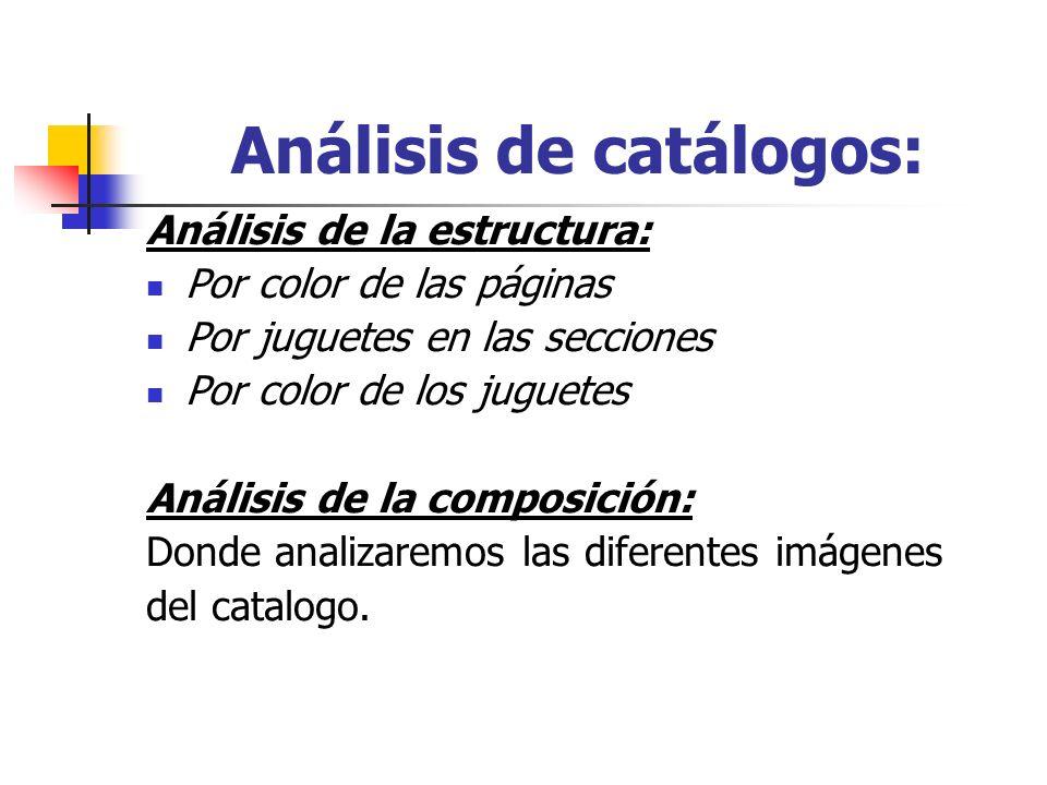 Análisis de catálogos: