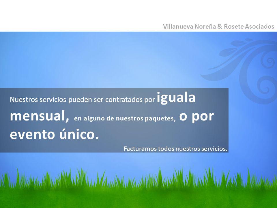 Villanueva Noreña & Rosete Asociados