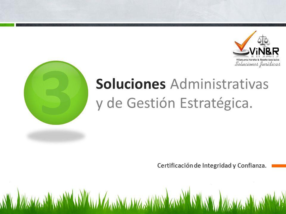 Soluciones Administrativas y de Gestión Estratégica.