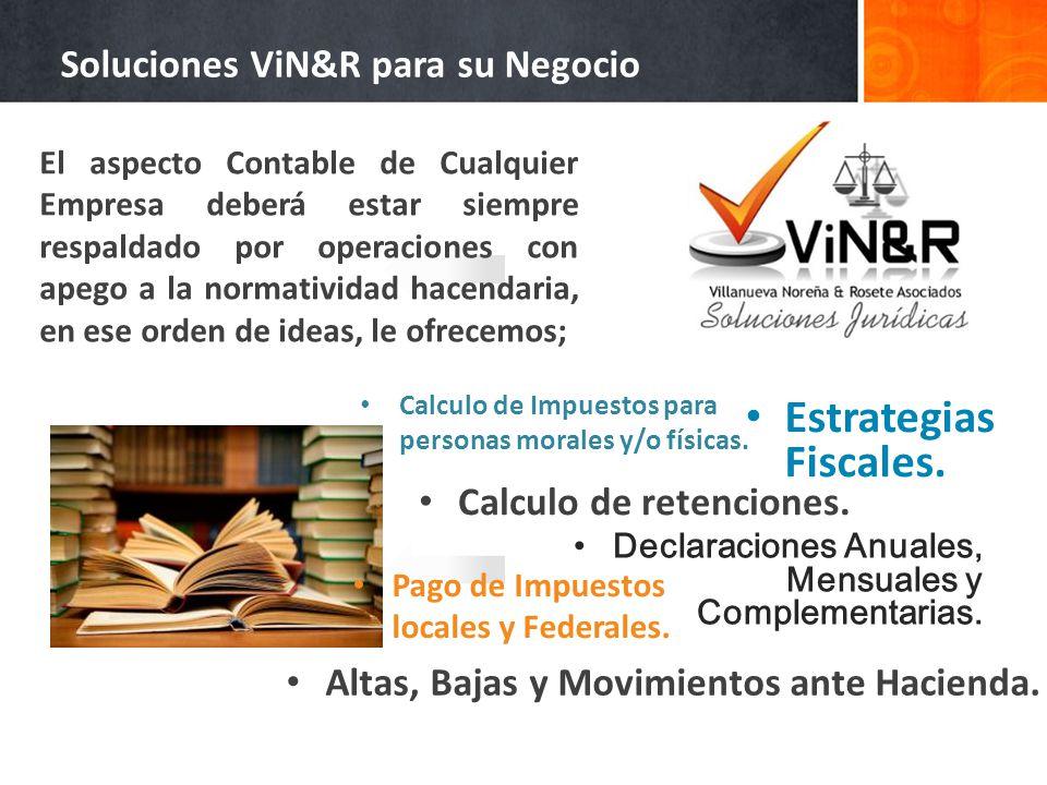 Soluciones ViN&R para su Negocio