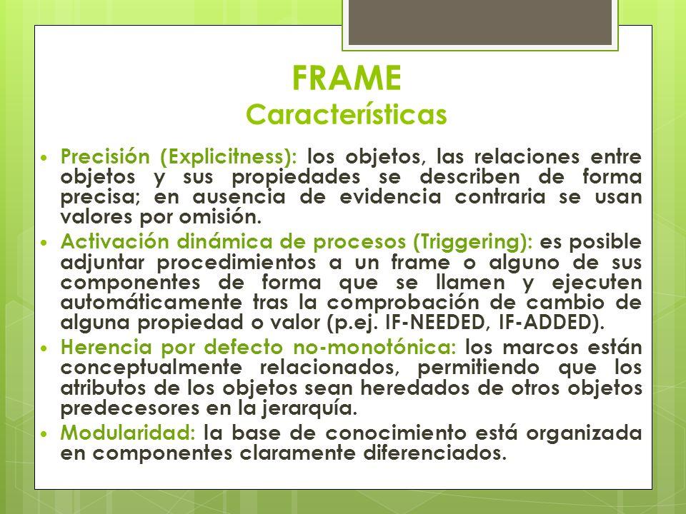 FRAME Características