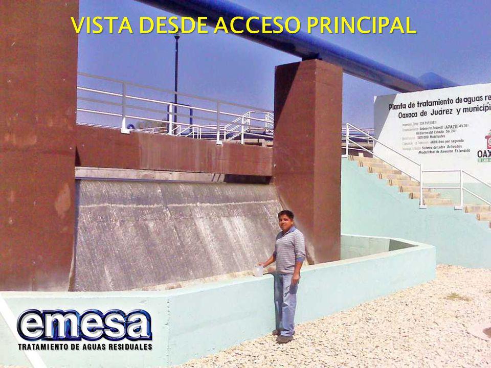 VISTA DESDE ACCESO PRINCIPAL