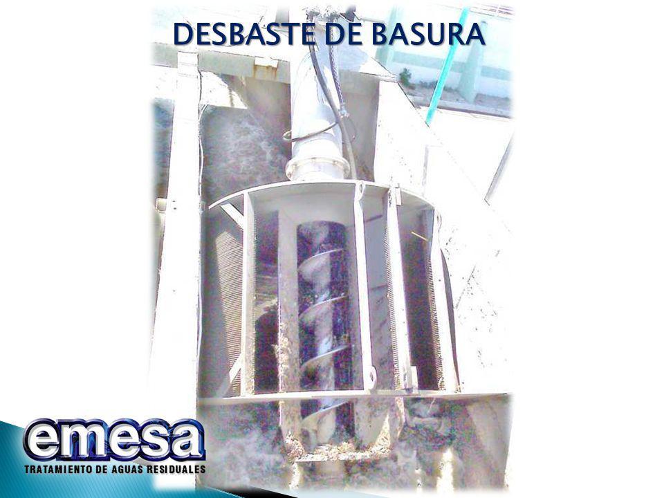 DESBASTE DE BASURA