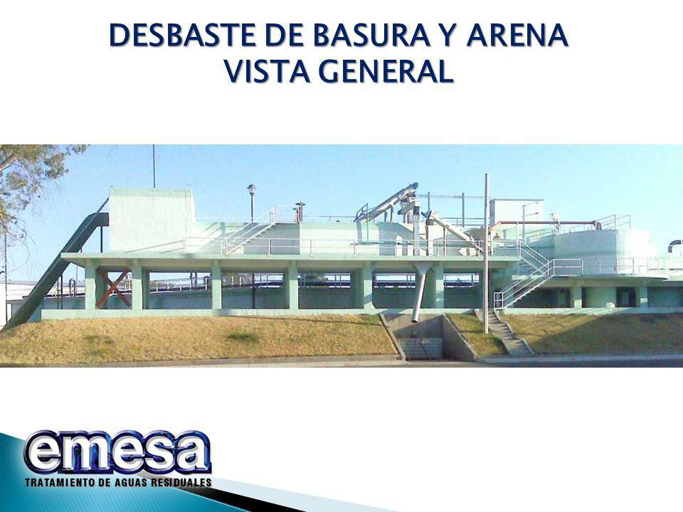 DESBASTE DE BASURA Y ARENA