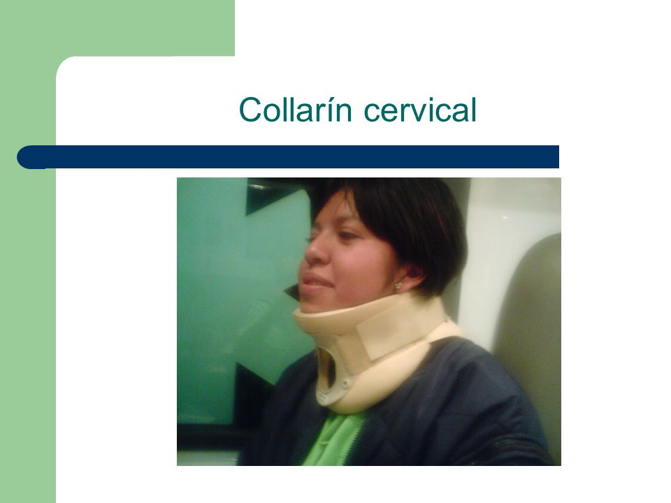 Collarín cervical 19