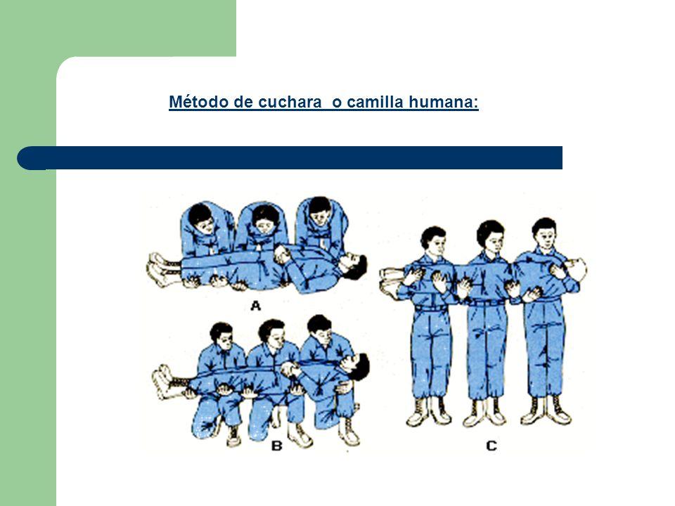 Método de cuchara o camilla humana:
