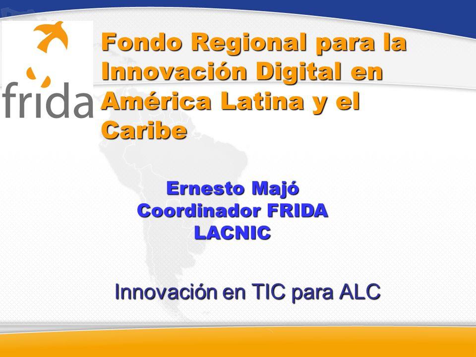 Innovación en TIC para ALC