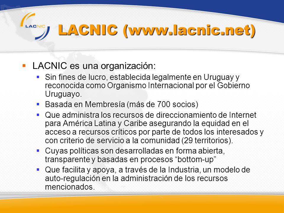LACNIC (www.lacnic.net)