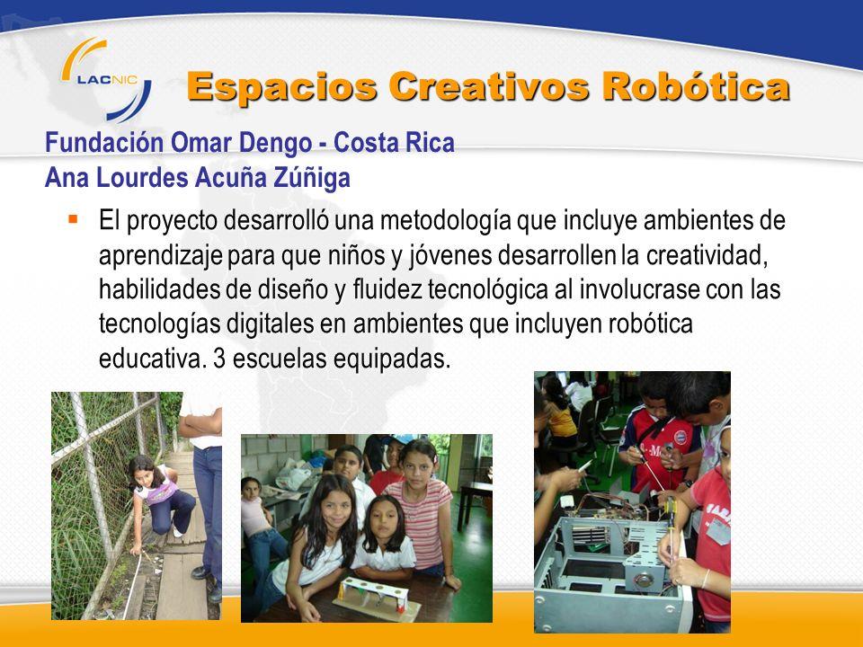 Espacios Creativos Robótica