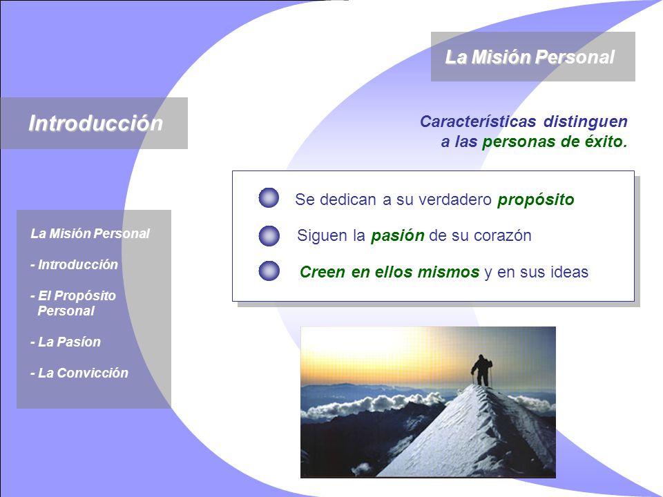 Introducción La Misión Personal