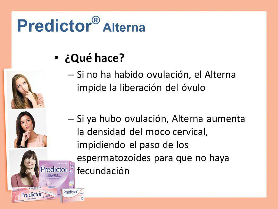 Predictor® Alterna ¿Qué hace