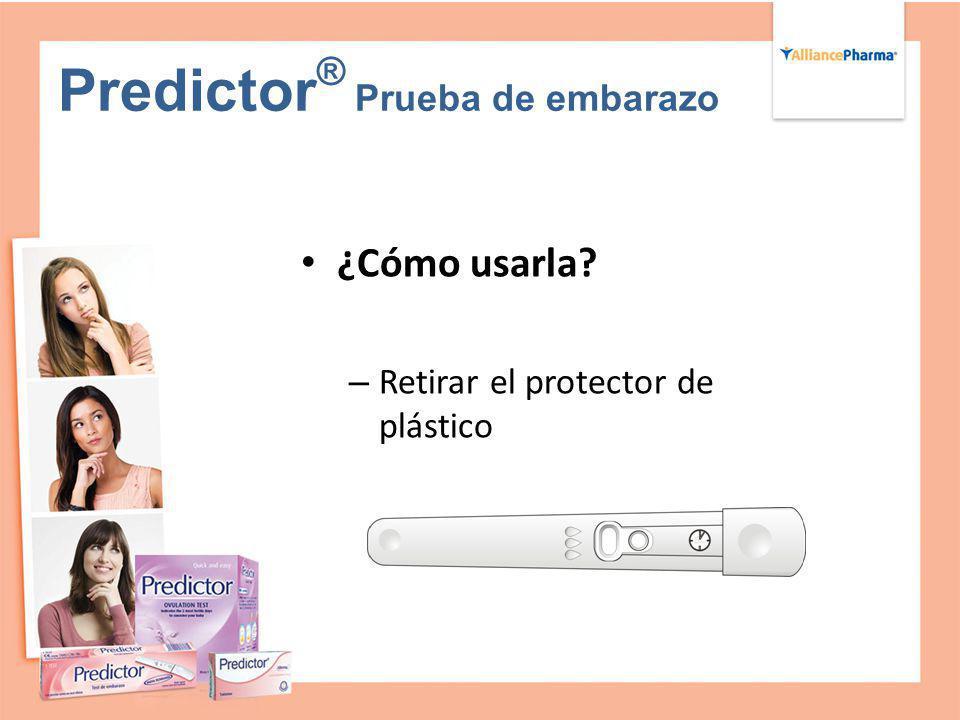 Predictor® Prueba de embarazo