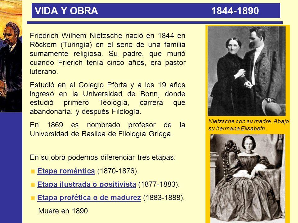 VIDA Y OBRA 1844-1890