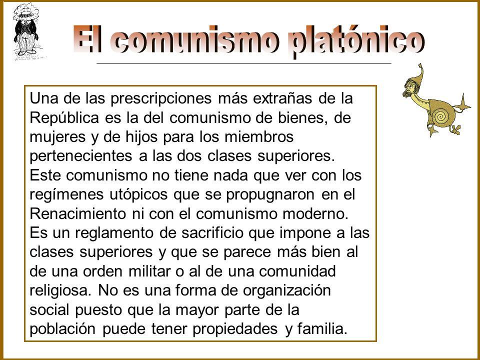 El comunismo platónico
