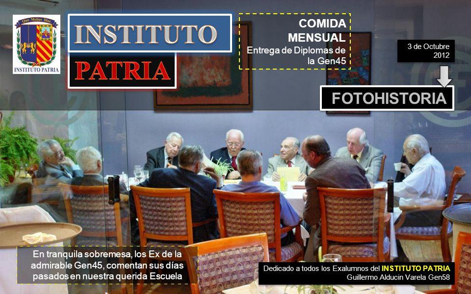 INSTITUTO PATRIA FOTOHISTORIA COMIDA MENSUAL .