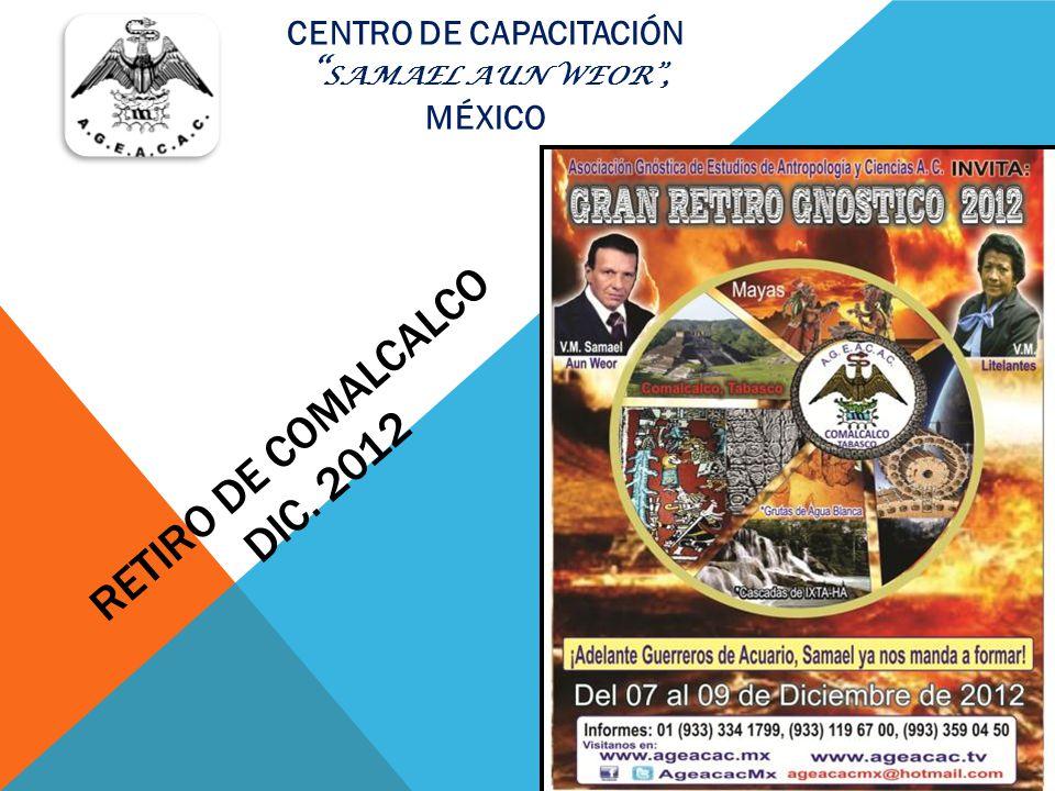 RETIRO DE COMALCALCO DIC. 2012