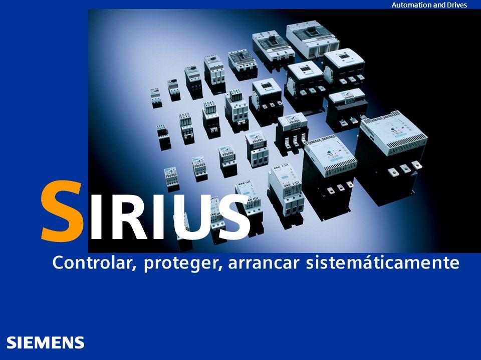 S IRIUS Controlar, proteger, arrancar sistemáticamente