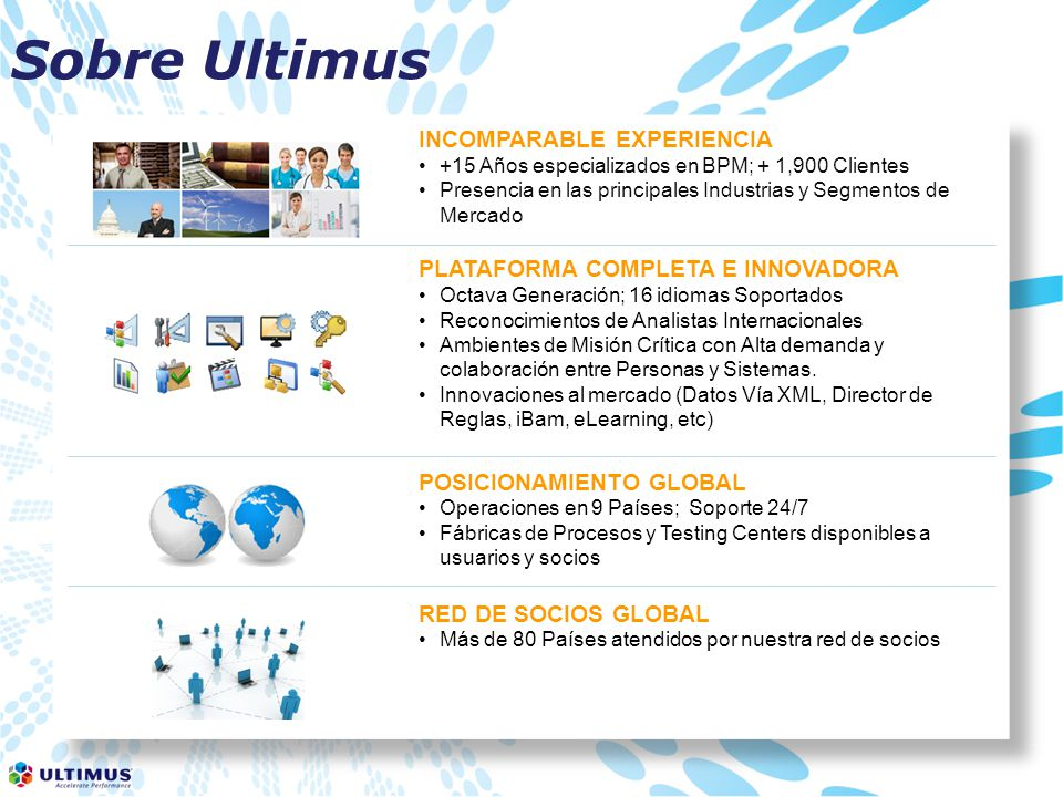 Sobre Ultimus INCOMPARABLE EXPERIENCIA