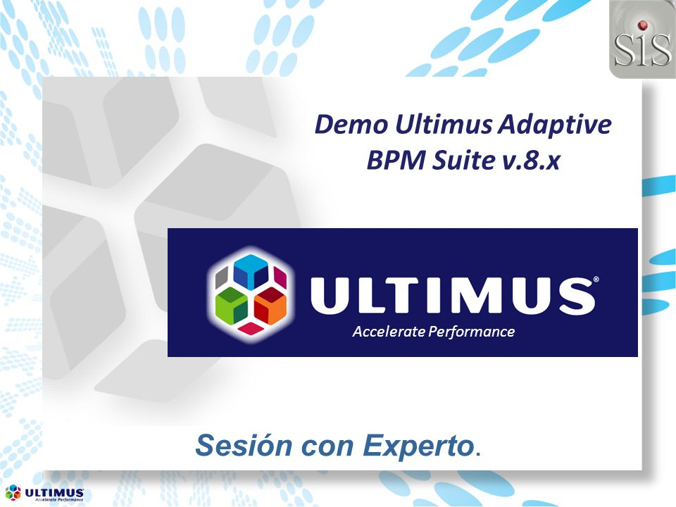 Demo Ultimus Adaptive BPM Suite v.8.x