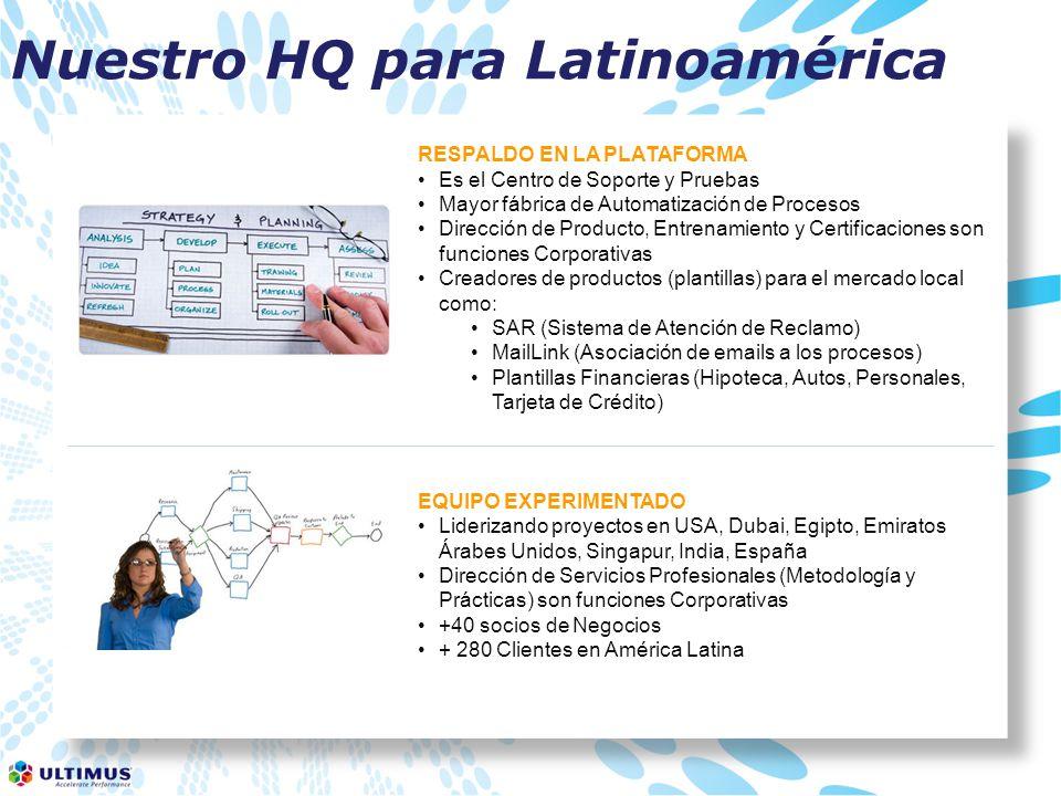 Nuestro HQ para Latinoamérica