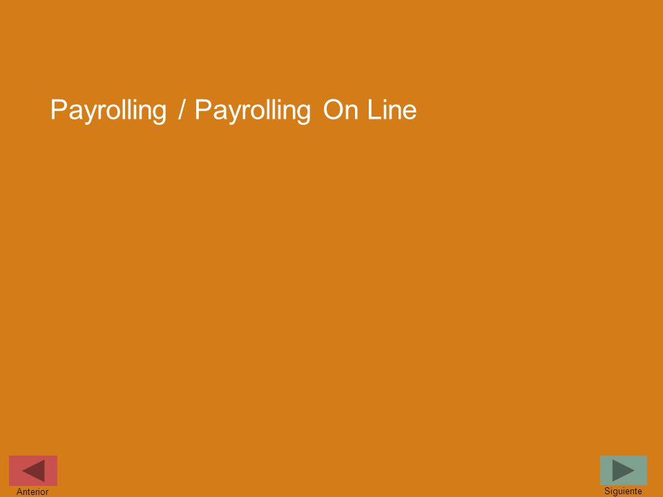 Payrolling / Payrolling On Line