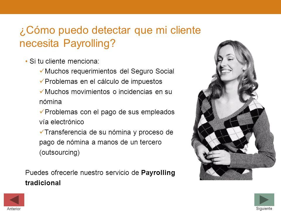 ¿Cómo puedo detectar que mi cliente necesita Payrolling