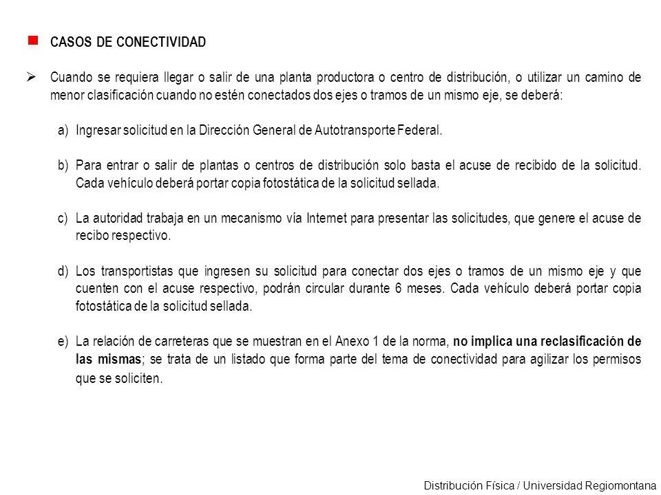 CASOS DE CONECTIVIDAD