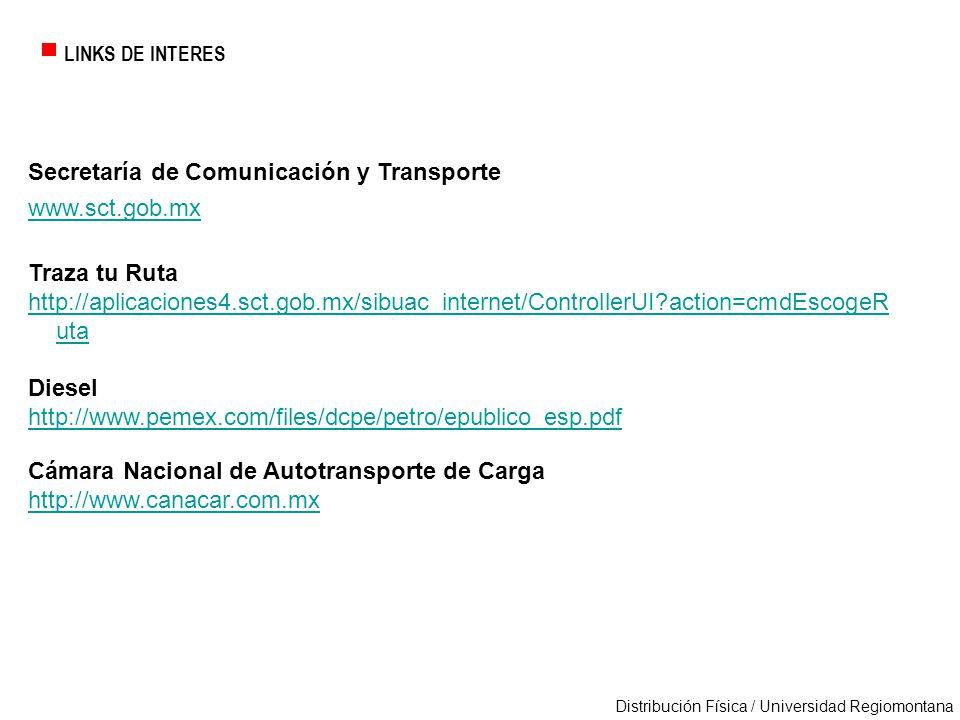 Secretaría de Comunicación y Transporte www.sct.gob.mx