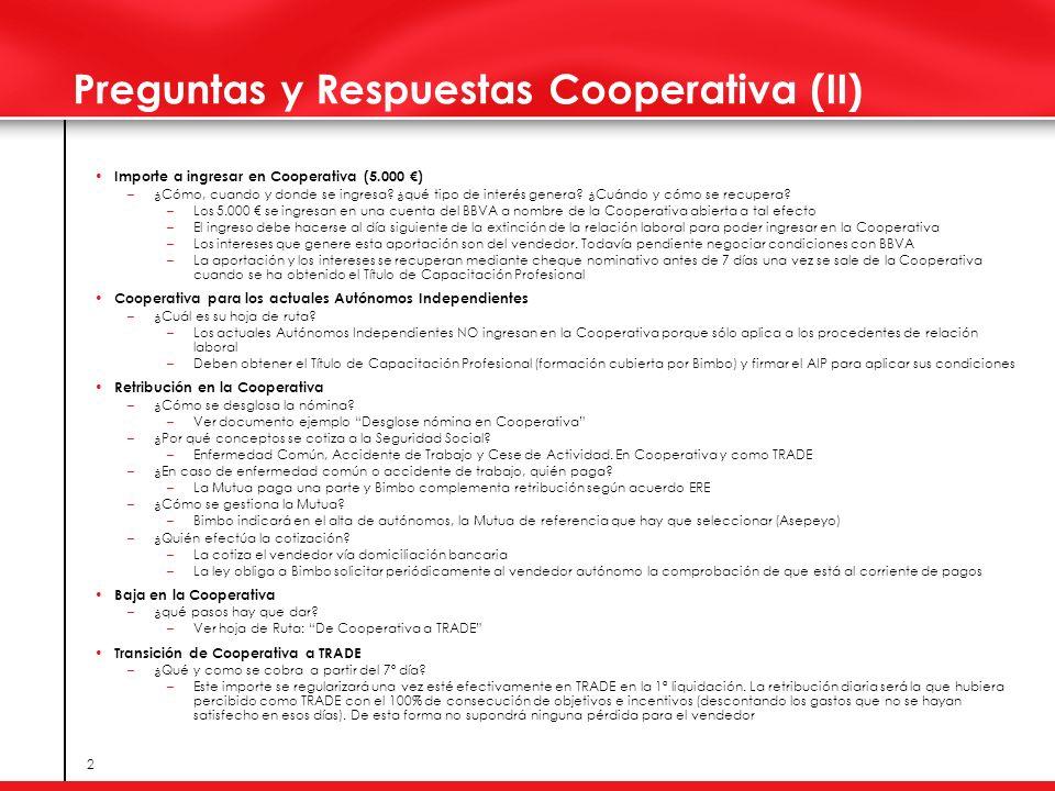 Preguntas y Respuestas Cooperativa (II)