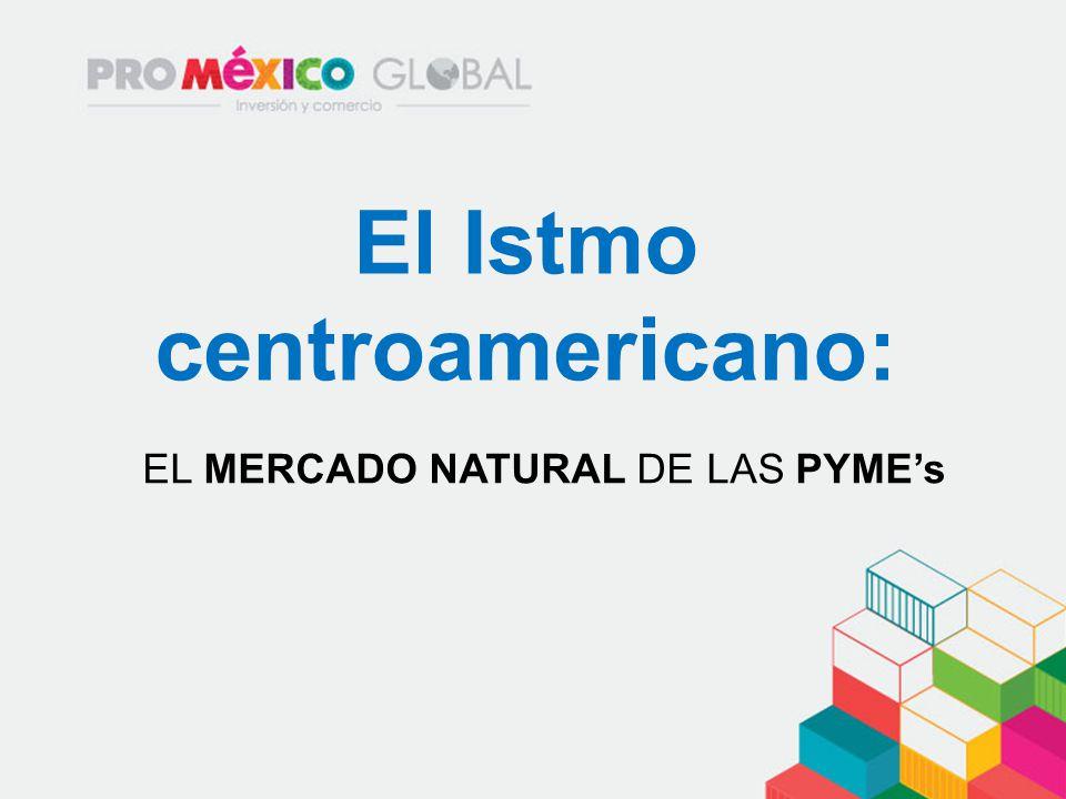 El Istmo centroamericano: