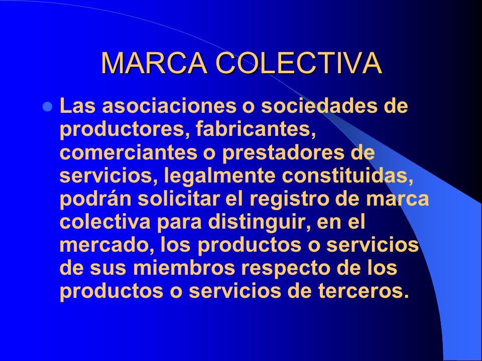 MARCA COLECTIVA