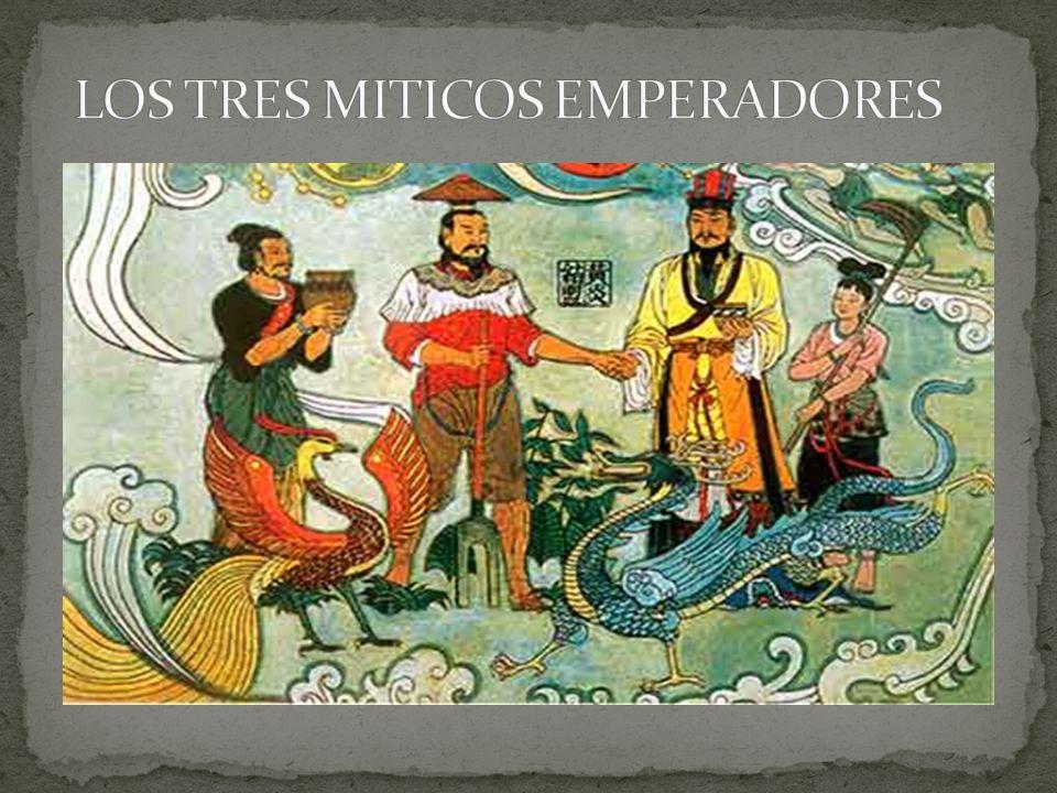 LOS TRES MITICOS EMPERADORES
