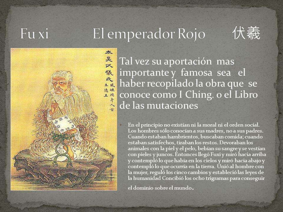 Fu xi El emperador Rojo 伏羲 Fu xi El emperador Rojo 伏羲