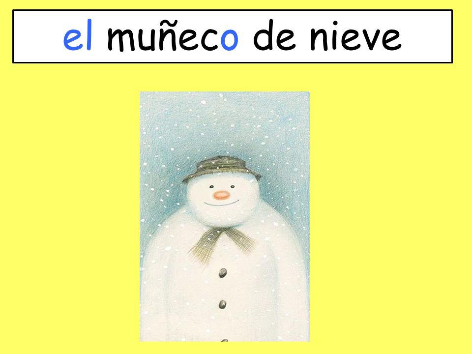 el muñeco de nieve