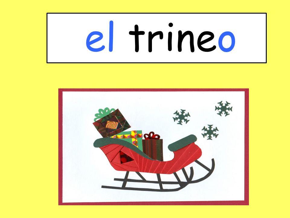 el trineo