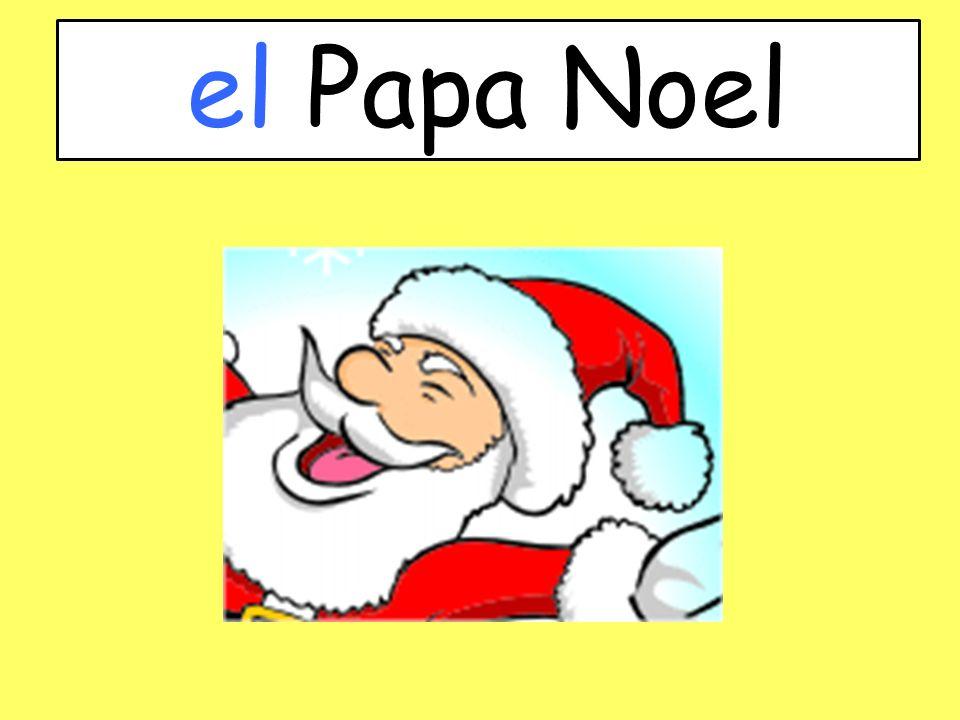el Papa Noel