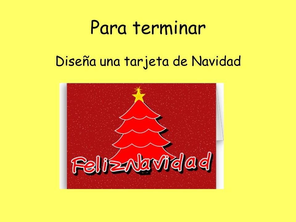 Diseña una tarjeta de Navidad