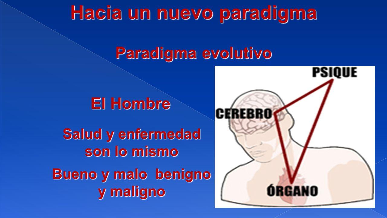 Paradigma evolutivo El Hombre Salud y enfermedad son lo mismo