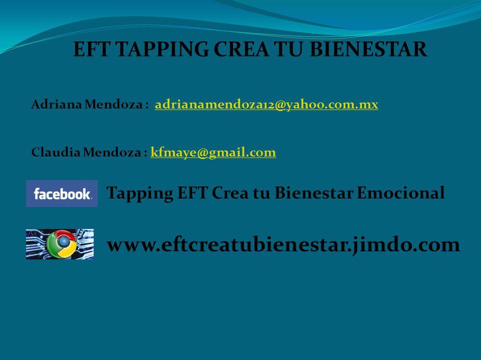 EFT TAPPING CREA TU BIENESTAR