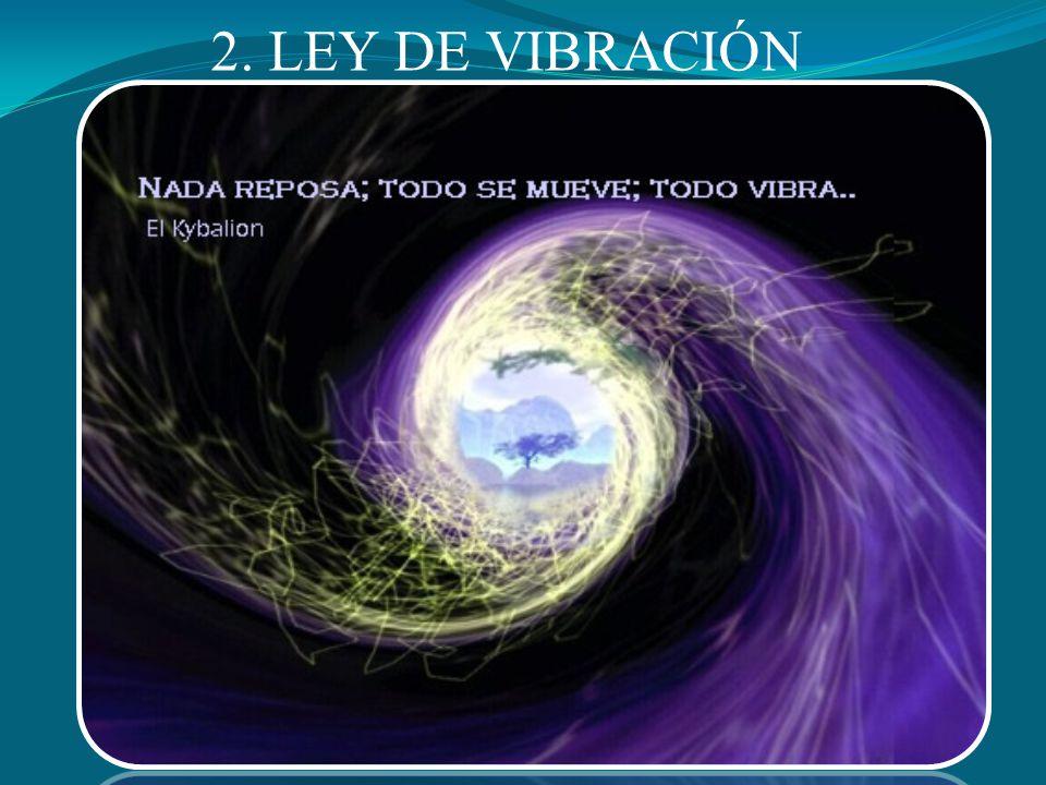 2. LEY DE VIBRACIÓN
