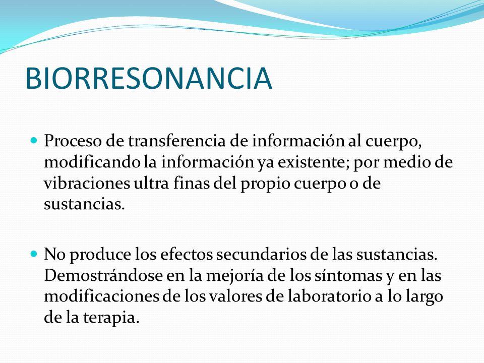 BIORRESONANCIA
