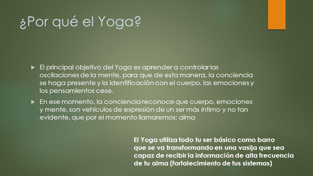 ¿Por qué el Yoga