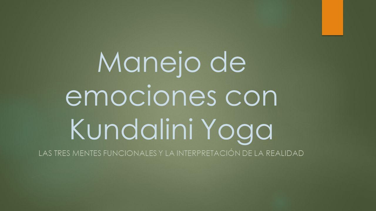 Manejo de emociones con Kundalini Yoga